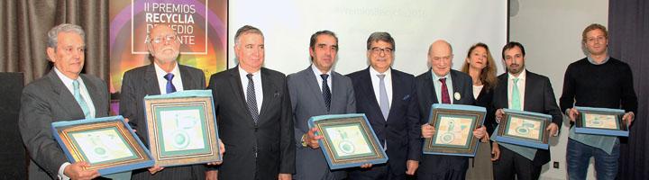 Recyclia reconoce a la Fundación Conama y la Diputación de Burgos por su fomento del reciclaje y la sostenibilidad