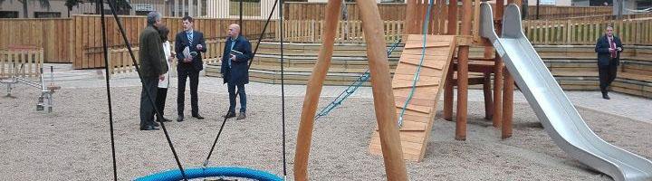Salamanca abre el Parque Salesas con nuevos espacios de ocio para toda la familia