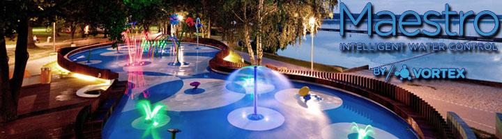 MAESTRO: control de agua inteligente para los juegos acuáticos de VORTEX