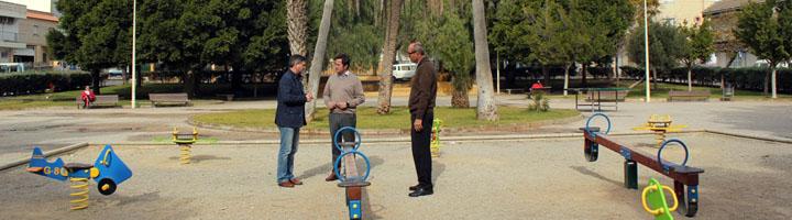 El Ejido realiza una importante inversión para renovar los parques infantiles de todo el municipio