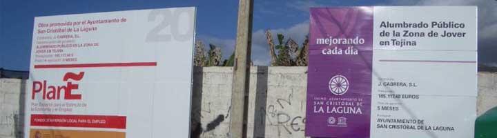 San Cristobal de la Laguna culmina la renovación del alumbrado público de la urbanización La Verdellada