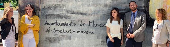 Murcia renueva íntegramente el jardín Santa Rosa de Santiago el Mayor
