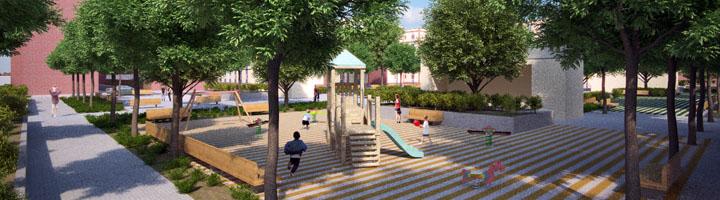 Salamanca renovará el Parque de Garrido para hacerlo más moderno, accesible y habitable