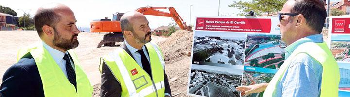 El nuevo Parque de El Cerrillo de Colmenar Viejo será un referente del municipio y contará con una superficie de 45.000 metros cuadrados