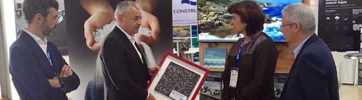 Eko-REC presenta la primera baldosa hecha de materiales 100% reciclados