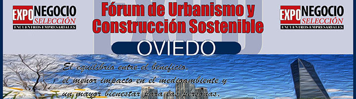 Todo preparado para la celebración del II Fórum de Urbanismo y Construcción Sostenible en Oviedo