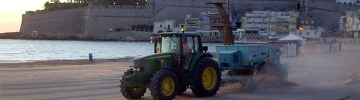 Peñíscola destina casi un millón de euros a limpieza vial y limpieza de playas