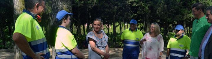 Collado Villalba pone en marcha el nuevo servicio de mantenimiento de parques y jardines