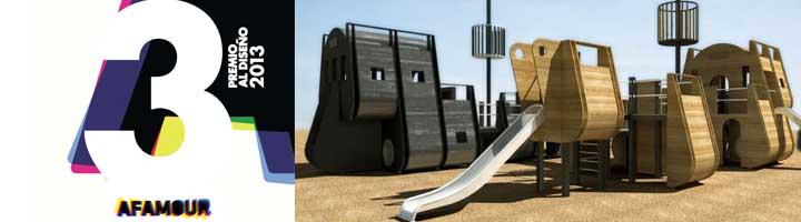Afamour convoca el Premio al Diseño de un equipamiento urbano para áreas de juego