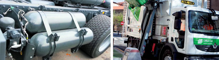 EMULSA incorpora en 2015 dos camiones propulsadas por gas natural
