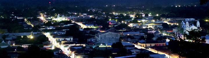 La ciudad de Sonsonate cambia su sistema de alumbrado público a tecnología LED