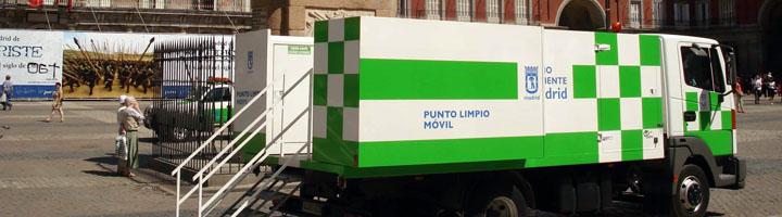 Ferrovial Servicios renueva el servicio de explotación de puntos limpios y de saneamiento de viviendas en la ciudad de Madrid