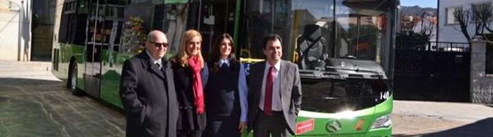 La Comunidad de Madrid mejora el transporte en Collado Villalba con autobuses híbridos