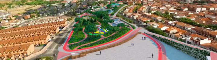 ACCIONA colabora en revitalizar Colmenar Viejo con la ejecución del parque El Cerrillo