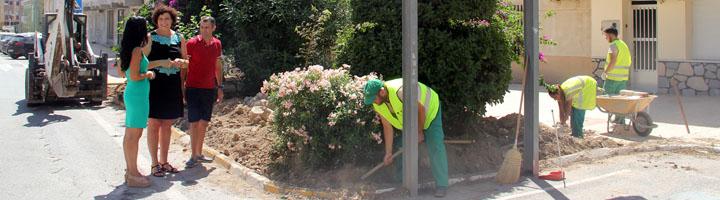 Puerto Lumbreras pone en marcha un plan integral de remodelación de parques y jardines