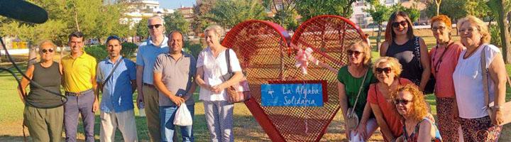 El Parque Municipal de La Algaba abre sus puertas con una jornada festiva y solidaria