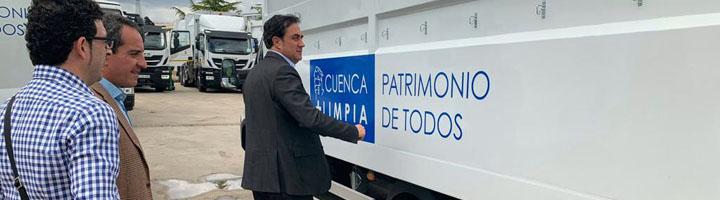 Cuenca renueva la maquinaria de limpieza viaria y recogida de residuos con una inversión de 3,3 millones de euros