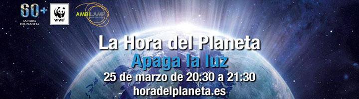 AMBILAMP se une un año más a La Hora del Planeta