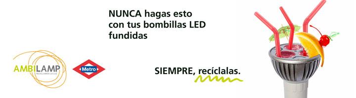 Ambilamp pone en marcha una nueva campaña en colaboración con Metro de Madrid