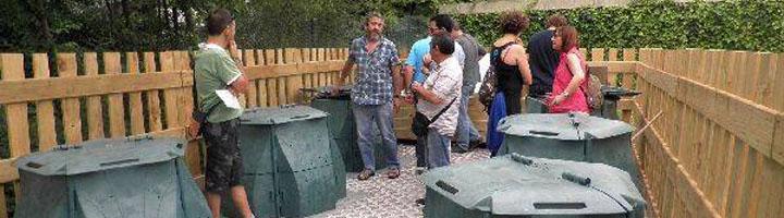 Tres nuevos barrios se unen al compostaje comunitario en Donostia