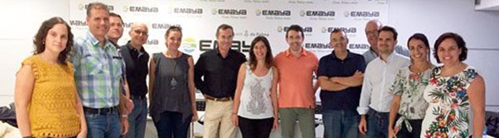 Una delegación de cuatro cabildos de Canarias y Ecoembes visitan Palma para conocer la Recogida Selectiva Móvil