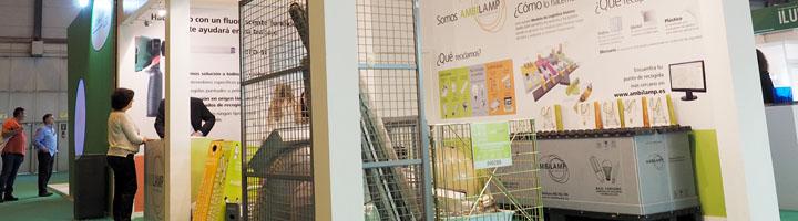 AMBILAMP expone sus soluciones de reciclaje en MATELEC 2014