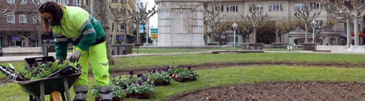 León renueva su confianza en ACCIONA para el mantenimiento de zonas verdes y espacios públicos