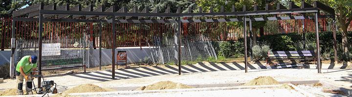 Boadilla comienza las obras de remodelación y mejora de los parques Boadilla Centro y Jorge Manrique