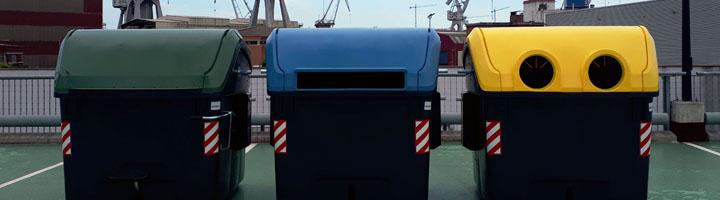 Sestao inicia la renovación de los contenedores amarillos