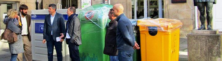 Cerca de 40 ayuntamientos de La Coruña contarán con nuevos contenedores de envases y papel-cartón para mejorar el reciclaje