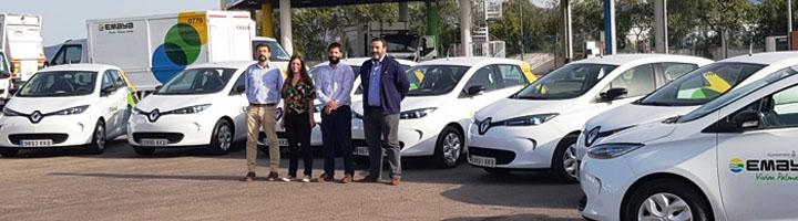 EMAYA incorpora a su flota 7 nuevos vehículos eléctricos