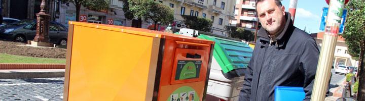 Torrelavega da un paso más en reciclaje con la instalación de diversos contenedores para aceite usado