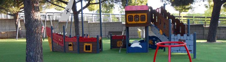 Madrid incorpora una zona de juegos infantiles adaptados al parque Juan Carlos I