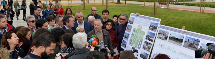 Sevilla abre al público el nuevo parque de la antigua cárcel de La Ranilla