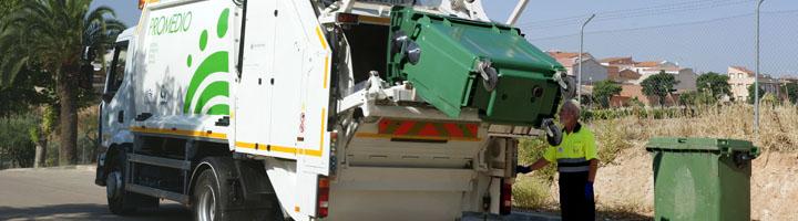 Los Santos de Maimona y Valverde de Llerena estrenan servicio de recogida de residuos urbanos con PROMEDIO