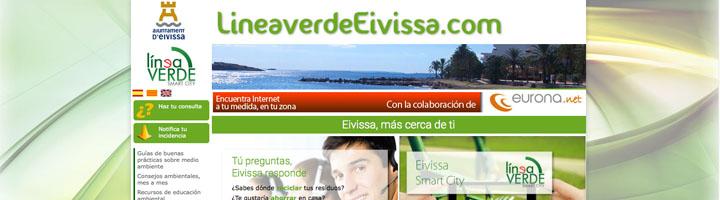 Ibiza recibe 3.197 incidencias desde la implantación de la APP Línea Verde