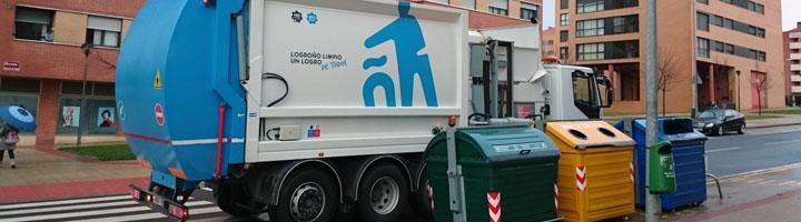 Logroño renueva su confianza en FCC Medio Ambiente y prorroga el contrato de limpieza viaria y recogida de residuos 8 años más