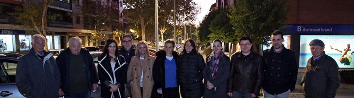 Toledo renueva el alumbrado público del barrio de Santa Teresa que incluye 175 nuevas luminarias