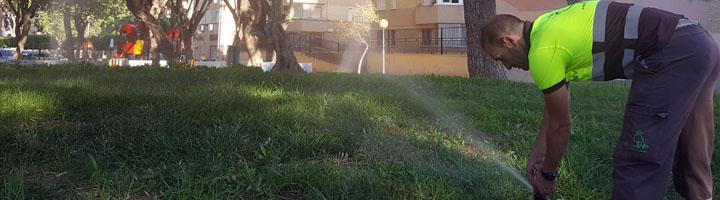 Un moderno sistema de vigilancia de riego controla más de 300 hectáreas de zonas verdes de Murcia