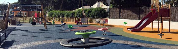 Ibiza estrena parque infantil dirigido a niños y niñas de 3 a 12 años en Playa d'en Bossa