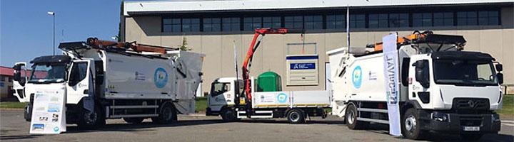 La Diputación de Salamanca mejora la recogida selectiva de residuos de la provincia con tres nuevos vehículos