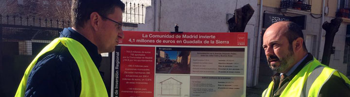 La Comunidad de Madrid invierte seis millones de euros en Guadalix de la Sierra y Venturada