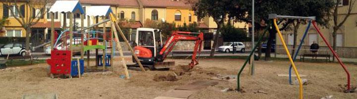 Salamanca inicia la reforma de otros cinco parques y plazas de la ciudad