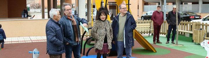 Zamora inaugura el nuevo parque infantil del barrio de Pinilla