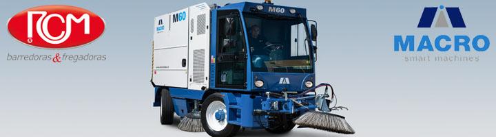 RCM presenta MACRO M60: La barredora ideal para su municipio