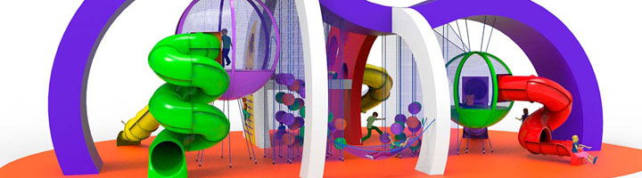Amusement Logic presenta el nuevo área de juegos Bubbles