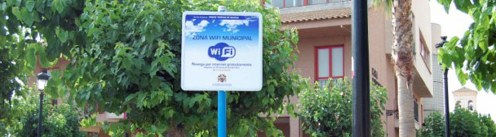 Murcia dispondrán de conexión wifi abierta para los ciudadanos en varios espacios públicos