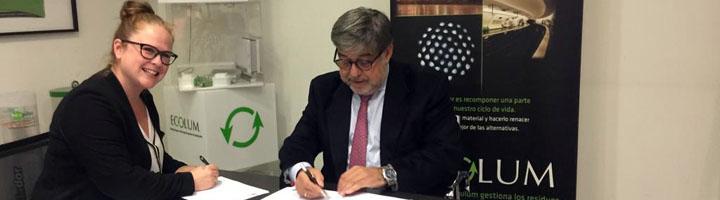 ECOLUM firma un acuerdo de colaboración con el Gremi de Recuperació de Cataluña