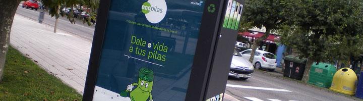 Ecopilas pone en marcha en Asturias una experiencia piloto de recogida de pilas usadas