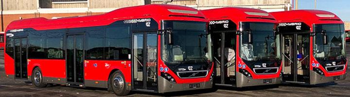 Zaragoza estrena 14 nuevos autobuses híbridos en las líneas 38, 39 y CI2